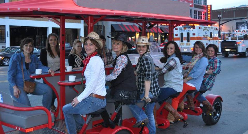 Dallas Bar Bike Pub Crawl for Bachelorette Parties and Private Group Tours